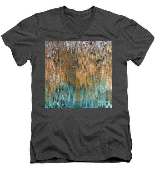 John 4 14. Never Thirst Men's V-Neck T-Shirt