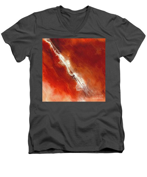 John 5 24. Passed From Death To Life Men's V-Neck T-Shirt