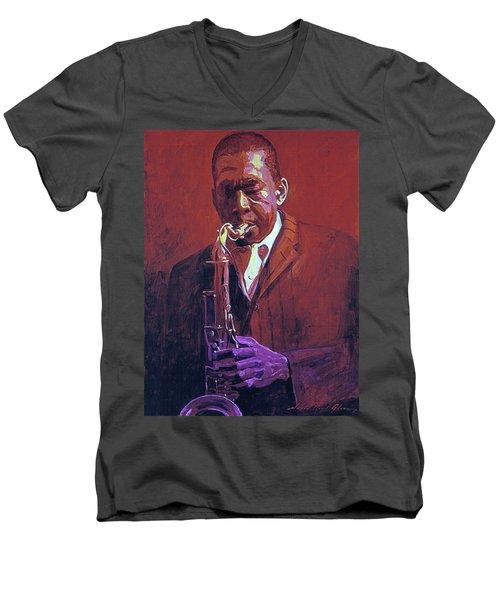 John Coltrane Men's V-Neck T-Shirt