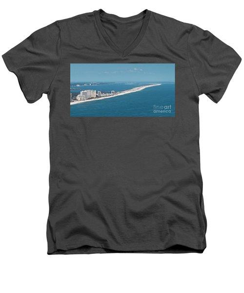 Johnson Beach Men's V-Neck T-Shirt