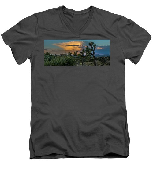 Joshua Tree Thunder Men's V-Neck T-Shirt