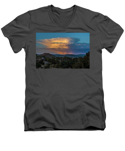 Joshua Tree Thunderhead Men's V-Neck T-Shirt