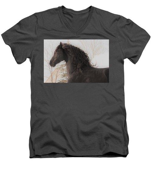 Joy In The Season Men's V-Neck T-Shirt