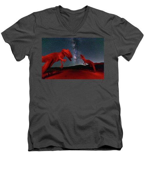Jurassic Men's V-Neck T-Shirt