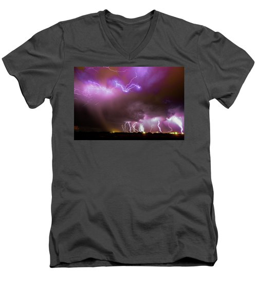 Just A Few Bolts 001 Men's V-Neck T-Shirt
