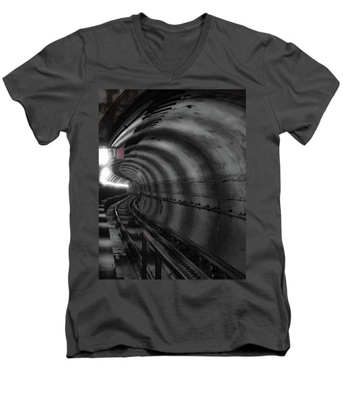 Just Around The Bend Men's V-Neck T-Shirt