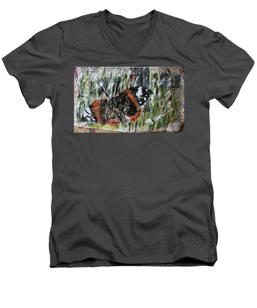 Just Hold On Men's V-Neck T-Shirt