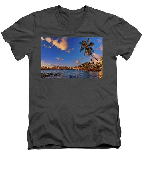 Kailua Bay Men's V-Neck T-Shirt