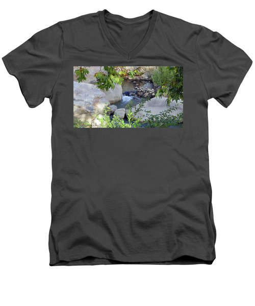 Kaweah River Men's V-Neck T-Shirt