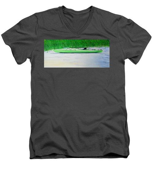 Kayak Essex River Men's V-Neck T-Shirt