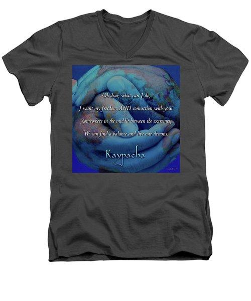 Kaypacha - November 28, 2018 Men's V-Neck T-Shirt