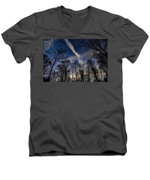 Kentucky Sky Men's V-Neck T-Shirt