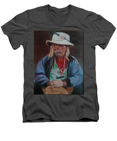 Kermudgeon  Men's V-Neck T-Shirt