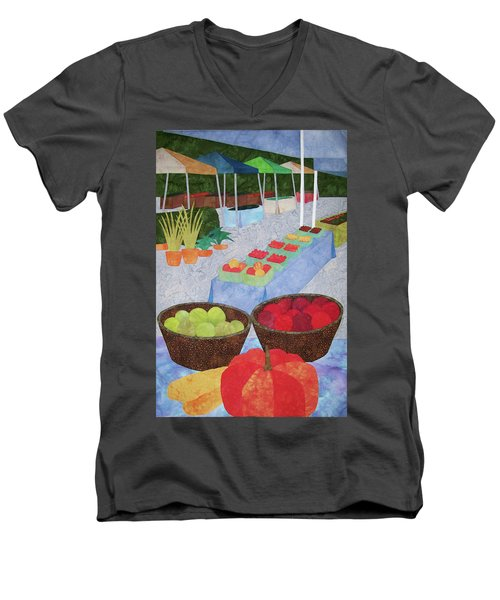 Kings Yard Farmers Market Men's V-Neck T-Shirt