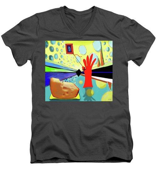 Kite Men's V-Neck T-Shirt