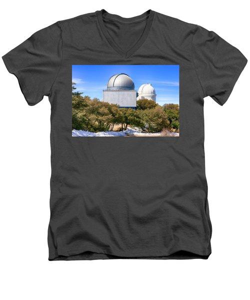 Kitt Peak Observatory Az Men's V-Neck T-Shirt