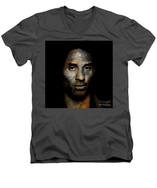 Kobe Bean Bryant Men's V-Neck T-Shirt