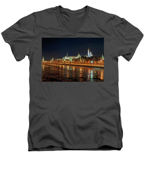 Kremlin Men's V-Neck T-Shirt