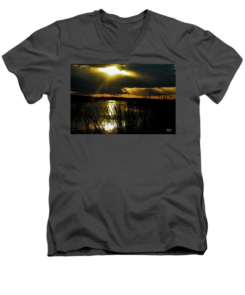 A Spiritual Awakening Men's V-Neck T-Shirt