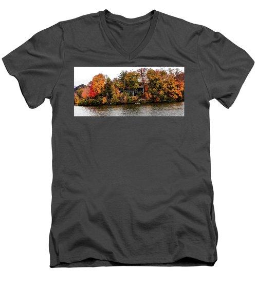 Lake Colors Men's V-Neck T-Shirt