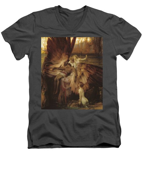 Lament Of Icarus Men's V-Neck T-Shirt