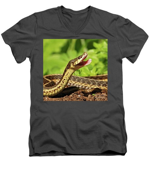 Laughing Snake Men's V-Neck T-Shirt