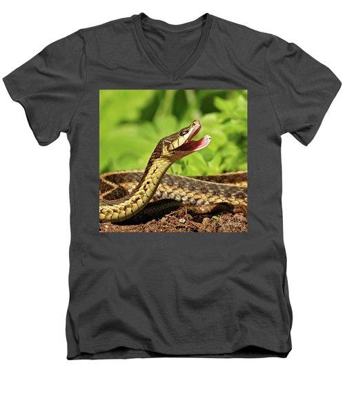 Laughing Snake Men's V-Neck T-Shirt