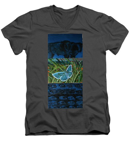 Layers And Layers Where Do We Fit Men's V-Neck T-Shirt