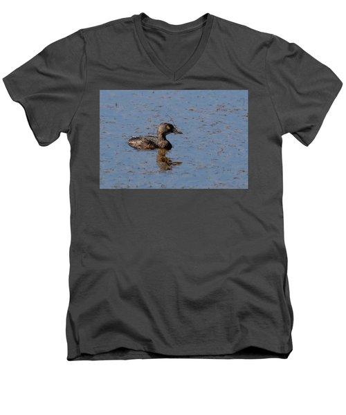 Least Grebe Men's V-Neck T-Shirt