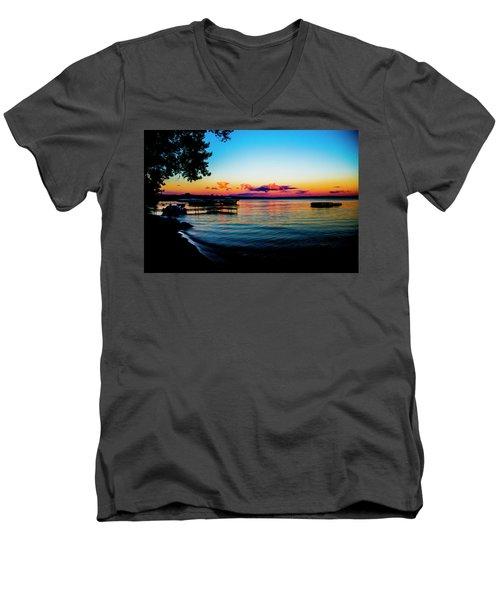 Leech Lake Men's V-Neck T-Shirt