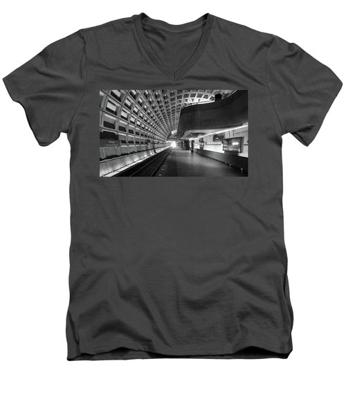 Light At The End Of The Tunnel Men's V-Neck T-Shirt