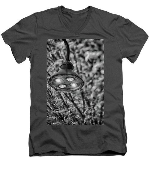 Lights In Town Men's V-Neck T-Shirt