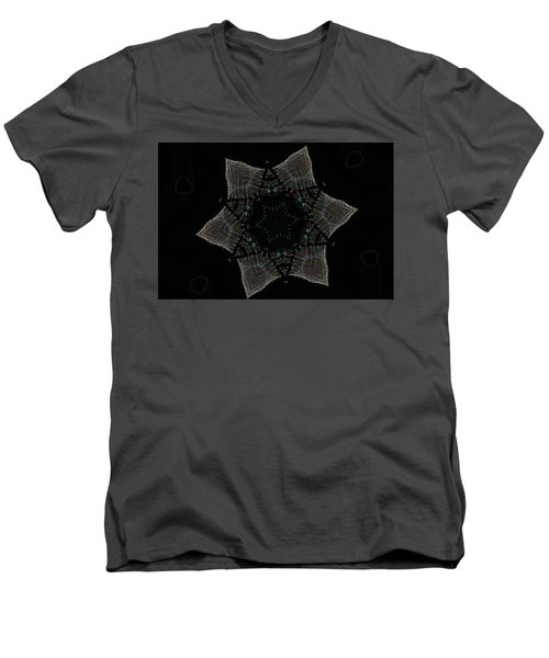 Lights Within A Star Men's V-Neck T-Shirt