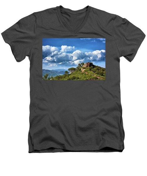 Like Touching The Sky Men's V-Neck T-Shirt