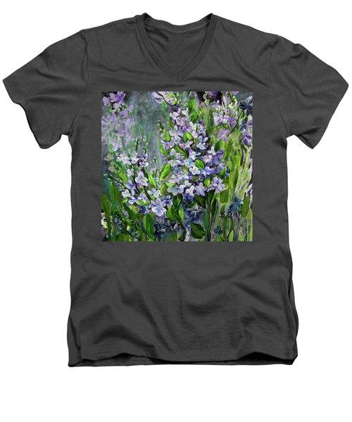 Lilac Dream Men's V-Neck T-Shirt