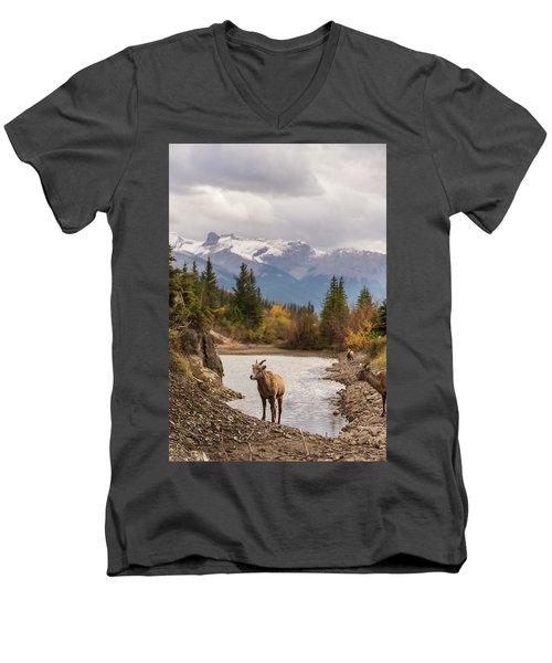 Little Bighorn Men's V-Neck T-Shirt