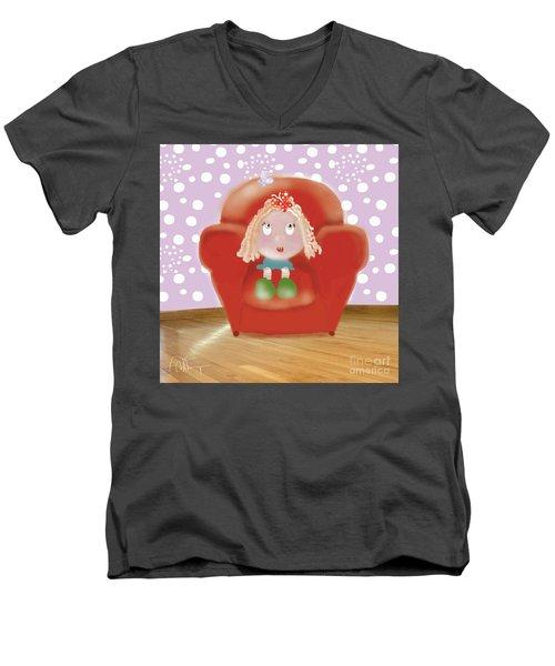 Little Ms Men's V-Neck T-Shirt