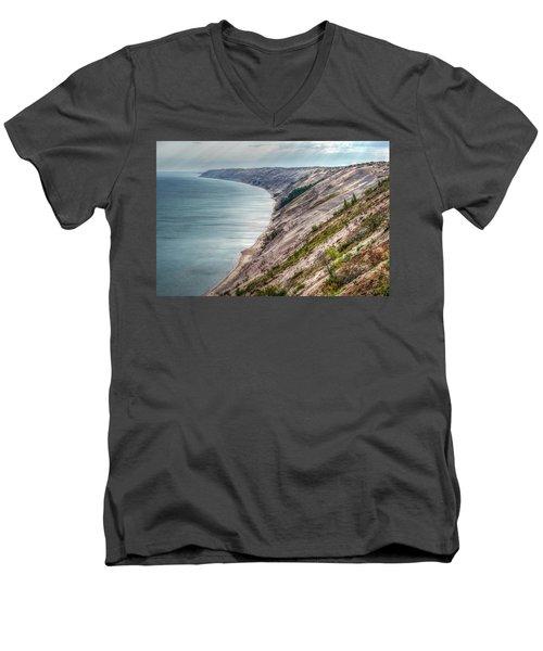 Long Slide Overlook Men's V-Neck T-Shirt