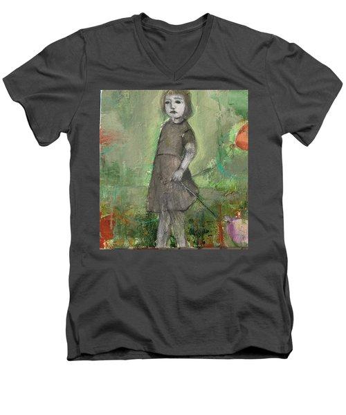 Look Around Men's V-Neck T-Shirt