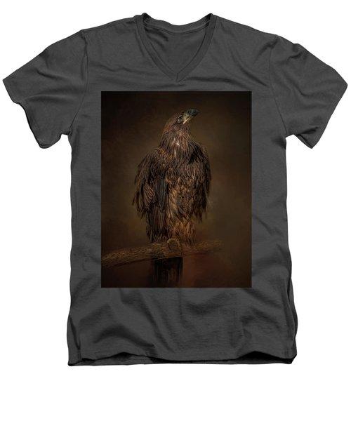 Look Up Men's V-Neck T-Shirt