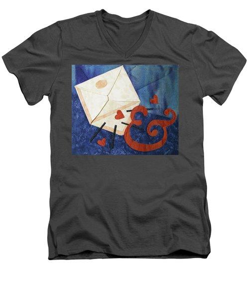 Love Letter Men's V-Neck T-Shirt
