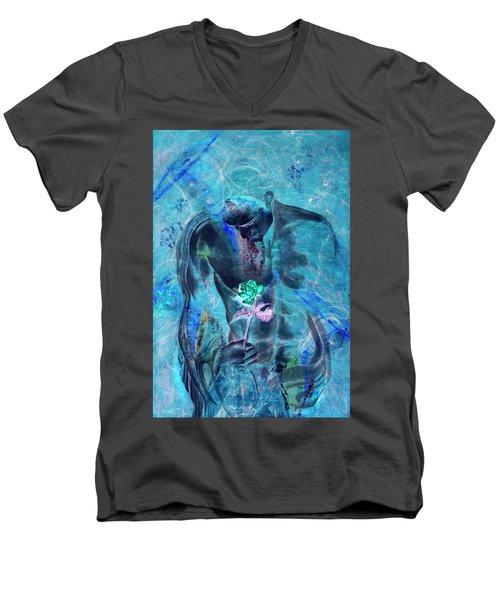 Love Undenied Men's V-Neck T-Shirt