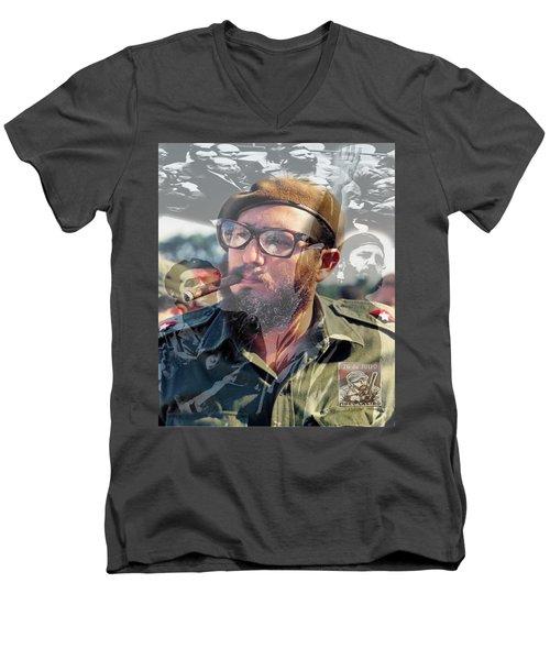 Loved Fidel Men's V-Neck T-Shirt