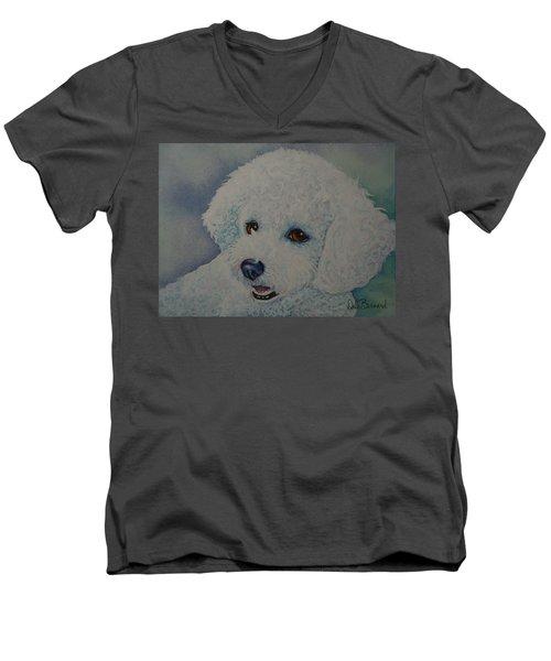 Lovely Lacy Men's V-Neck T-Shirt