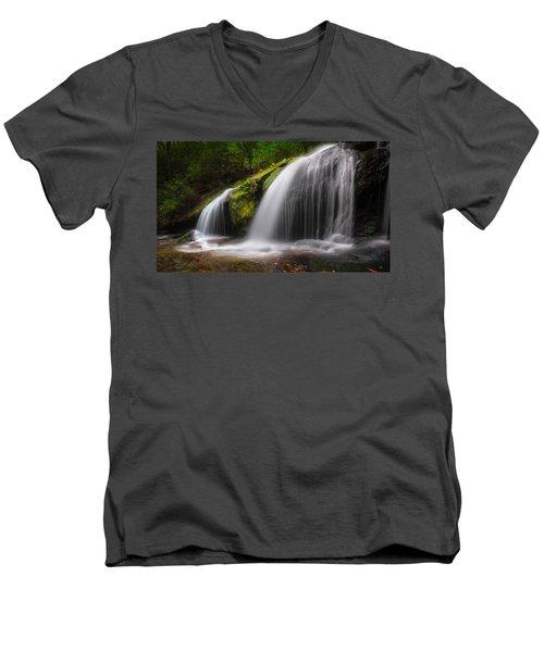 Magical Falls Men's V-Neck T-Shirt