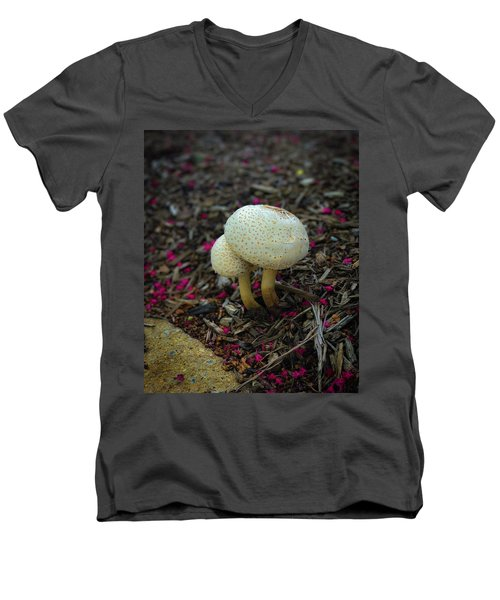 Magical Mushrooms Men's V-Neck T-Shirt