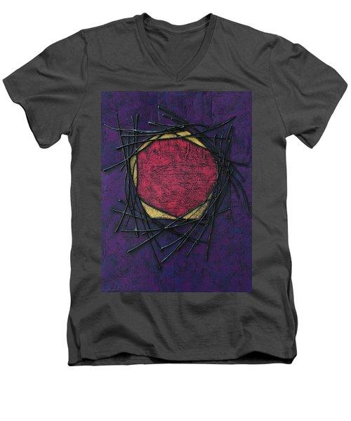 Make Safe Men's V-Neck T-Shirt