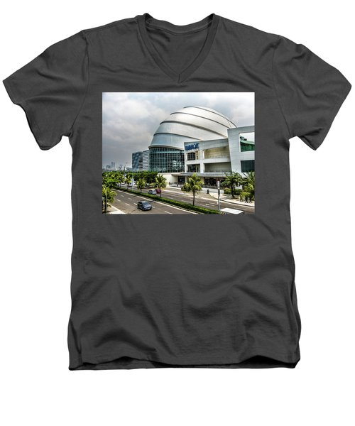 Mall Of Asia 4 Men's V-Neck T-Shirt