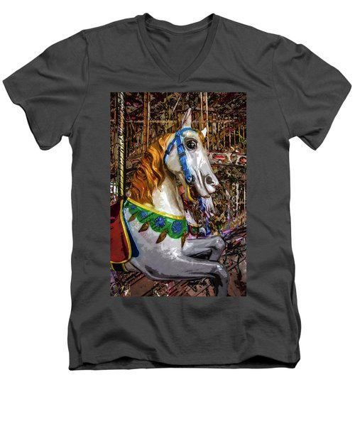 Mall Of Asia Carousel 1 Men's V-Neck T-Shirt