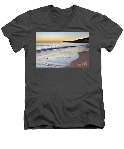 Maria Luisa Beach In Albufeira Men's V-Neck T-Shirt